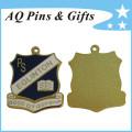 Miniature Metal Medal Badge with Soft Cloisonne (badge-223)