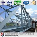 Peças de Estrutura de Aço Pesado Fabricadas para Ponte