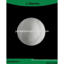 Fuente de fábrica GMP L-Alanina aditivo alimenticio en polvo