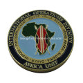 Custom Africa Unit Best Souvenir Challenge Coin