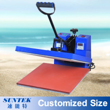 Flat Clamshell T-Shirt Printing Sublimation Press Heat Transfer Machine