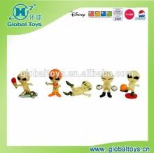 HQ9697 Alien dolls glow in dark with EN71 standard for promotion toy