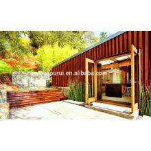 Kits de contenedores de casa profesional / contenedor de 20 pies casa / casa de diseño del contenedor