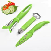 décapsuleur en acier inoxydable et couteau