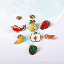 Fruit Brooch Watermelon, Pineapple, Banana, Strawberry, Kiwi