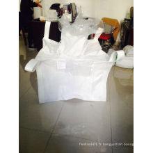 Grand sac pour le chlorure de calcium en utilisant