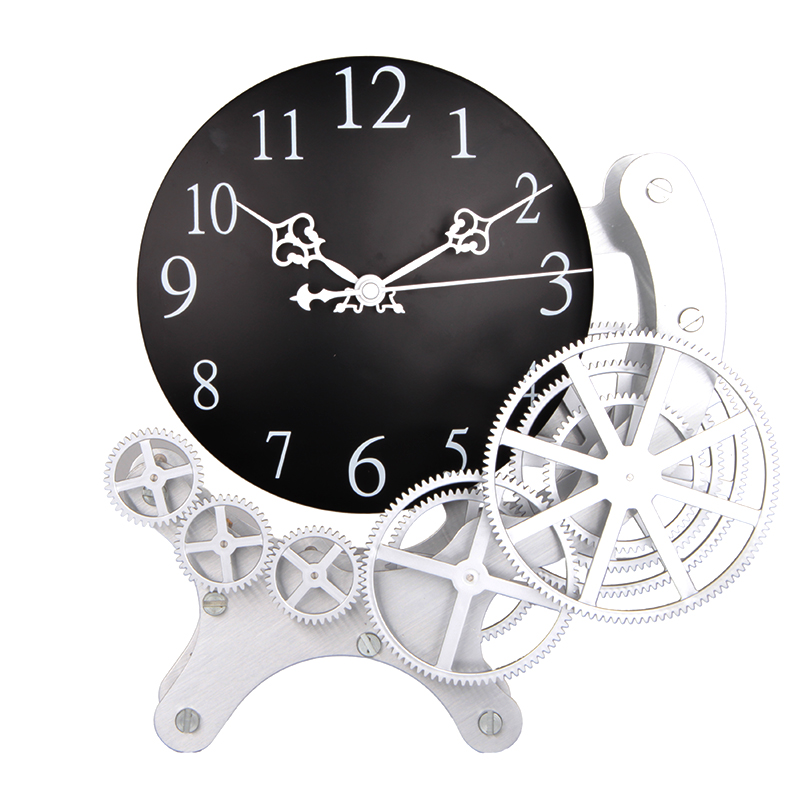 Full Moon Metal Desktop Clock
