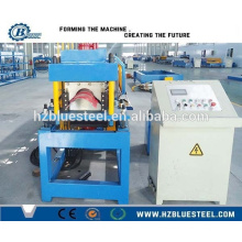 Glazed Tile Step Ridge Cap Roll Forming Making Machine, Glazed Metal Roof Ridge Cap Shaping Machine