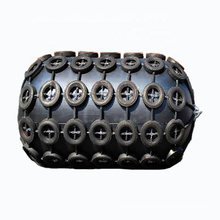High performance marine rubber hydro pneumatic fender