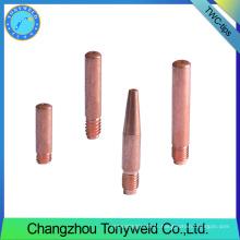 11-40 peças de reposição de armas de solda tweco peças pontas de contato de cobre