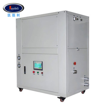 Circulating heating and cooling air compressor machine