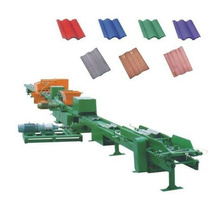 China automatic 30kw Mosaic cement roof tile machine with 1 Year Warranty