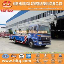 FOTON 4x2 HLQ5163GJKB camion aérien 22M bonne qualité vente chaude à vendre