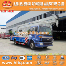 FOTON 4x2 HLQ5163GJKB aerial truck 22M good quality hot sale for sale