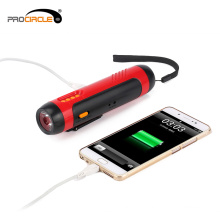 Безопасность FM-радио USB аккумуляторная фонарик