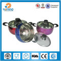 Chiness stainless steel non-stick woks