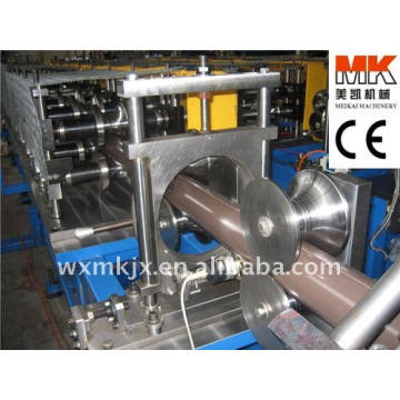 Tubo de agua redonda de acero que forma la máquina