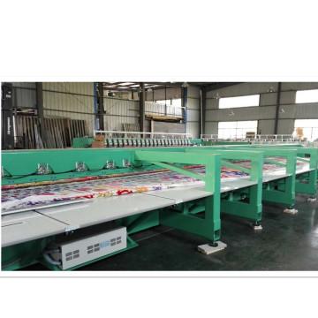 Machine de broderie de chenille avec une qualité satisfaisante pour le tissu