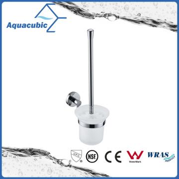Contemporary Chromed Toilet Brush Holder (AA9617)