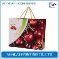 Caixa de presente de embalagem de papel ondulado cereja SenCai