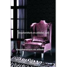 Cadeira de sofá de encosto clássico para venda XYD136