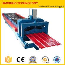 Профилегибочная машина для производства металлической черепицы, производственная линия