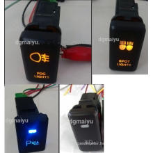 Car Button Switch with Wire/LED Lighted Push Button Switch