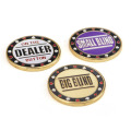 Nice Metal Chip Poker Buttons for Poker Fans