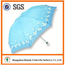 OEM/ODM Factory Wholesale Parasol Print Logo folding umbrella with led light