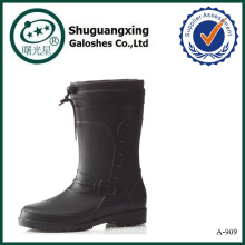 man shoe for rain rubber galoshes A-909