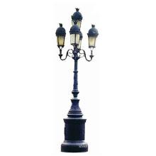 Street Light Post Pole Carbon Steel Iron Single-arm Avaliable Antique Street Light