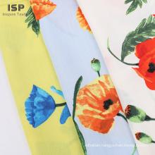 Rayon Slub Printed Solid Fabric