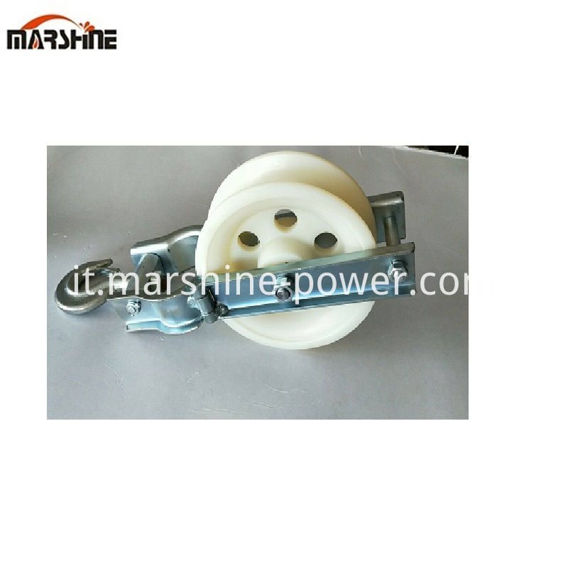 Nylon Rope Pulley Wheel