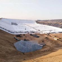 Geomembrana para la ingeniería de cimentaciones HDPE geomembrana