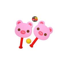 EVA Material Raqueta Deporte Juego de juguete con 1 bola para niños (10213623)