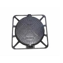 EN124 D400 Round ductile iron manhole cover