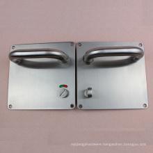 Door Lock Hardware vintage door handles with knob and indicator mark