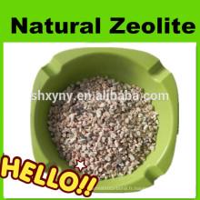 Zéolite naturelle granulaire pour la filtration de l'eau