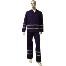 High Visibility Coverall/Overall with Dark-Navy Color (DFW1007)