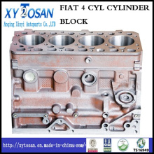Pour FIAT 4-Cylinder Diesel Engine Cylinder Block