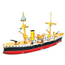 Quebra-cabeça do cruzador chinês 3D Zhiyuan