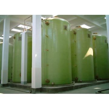 Tanque de fermentación o preparación de FRP