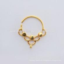 Joyería del anillo de nariz de la plata esterlina de la venta al por mayor 925,