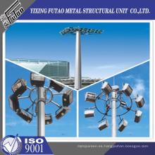 Iluminación de alto mástil de acero galvanizado OEM