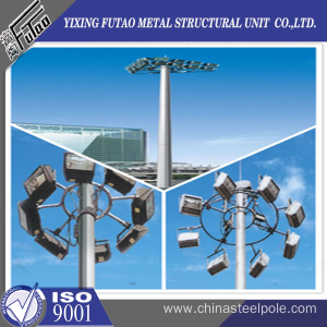 OEM galvanized steel mast