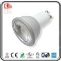 ETL 7W 630lm Dimmable COB GU10 LED