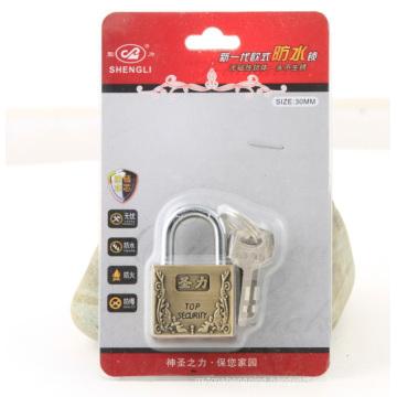 Zinc Alloy Square Type Vane Padlock Vane Lock