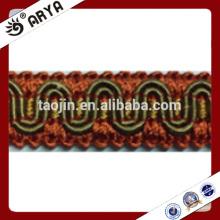 Marge optique de stock pour la décoration de rideaux et autres textiles de maison et un canapé