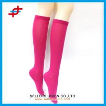 Yong girl tube de stockage en couleur solide / bas de bas de couleur japonais