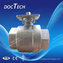 Пневматический шариковый клапан 4» DN100